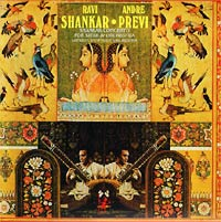 Обложка альбома «Ravi Shankar with Andre Previn. Concerto For Sitar and Orchestra» (Ravi Shankar / Andre Previn, 1971)