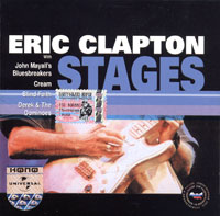 Обложка альбома «Stages» (Eric Clapton, 2001)
