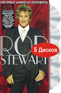 Обложка альбома «The Great American Songbook. Limited Edition» (Rod Stewart, 2005)
