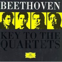 Обложка альбома «Key To The Quartets. Emerson String Quartet» (Beethoven, 2006)