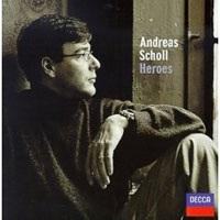 Обложка альбома «Heroes» (Andreas Scholl, 2006)