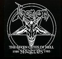 Обложка альбома «The Seven Gates Of Hell. The Singles» (Venom, 2006)