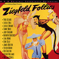 Обложка альбома «Ziegfeld Follies. MGM Original Soundtrack Recording» (1995)