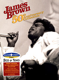 Обложка альбома «50th Anniversary Collection» (James Brown, 2004)