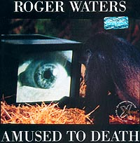 Обложка альбома «Amused to Death» (Roger Waters, 1992)