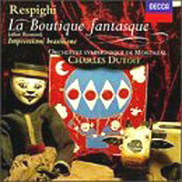 Обложка альбома «Boutique Fantasque. Dutoit» (Respighi, 2006)