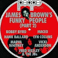 Обложка альбома «James Brown's Funky People P.2» (James Brown, 1988)