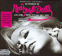 Обложка альбома «Live From Festival Hall, 2004» (New York Dolls, 2004)