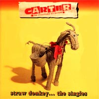 Обложка альбома «Straw Donkey… The Singles» (Carter Usm, 1995)