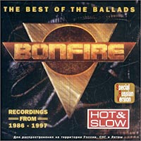 Обложка альбома «Hot & Slow. The Best Of The Ballads» (Bonfire, 1997)