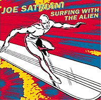 Обложка альбома «Surfing With The Alien» (Joe Satriani, 1987)