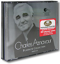 Обложка альбома «Platinum Collection» (Charles Aznavour, 2004)