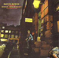 Обложка альбома «The Rise And Fall Of Ziggy Stardust» (David Bowie, 1999)