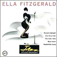 Обложка альбома «Jazz «Round Midnight» (Ella Fitzgerald, 2006)