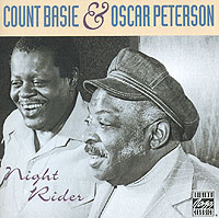 Обложка альбома «Night Rider» (Count Basie & Oscar Peterson, 1992)