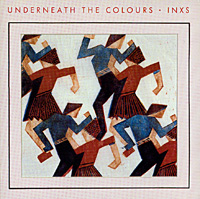 Обложка альбома «Underneath The Colours» (INXS, 1989)