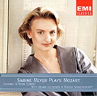 Обложка альбома «Sabine Meyer Plays Mozart, Vol.4» (Sabine Meyer, ????)