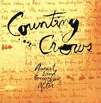 Обложка альбома «August And Everything After» (Counting Crows, 1993)