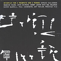Обложка альбома «Coltrane. Jaspar. Sulieman. Yong. Interplay For 2 Trumpets & 2 Tenors» (1992)