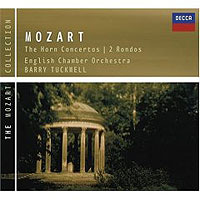 Обложка альбома «Mozart. The Horn Concertos. 2 Rondos. Barry Tuckwell» (Barry Tuckwell, 2006)