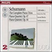 Обложка альбома «Schumann. The Complete Piano Trios. Beaux Arts Trio» (Beaux Arts Trio, 2006)