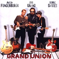 Обложка альбома «Grand Union» (Otis Grand, Anson Funderburgh, Debbie Davies, 1998)
