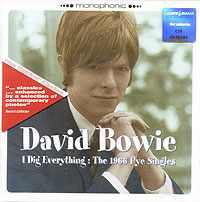 Обложка альбома «I Dig Everything. The 1966 Pye Singles» (David Bowie, 1999)