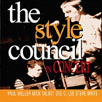 Обложка альбома «In Concert» (The Style Council, 1998)