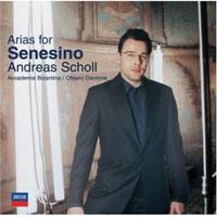 Обложка альбома «Arias For Senesino» (Andreas Scholl, 2006)