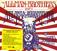 Обложка альбома «Band. Live At The Atlanta International» (The Allman Brothers, 2003)