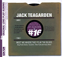 Обложка альбома «Meet Me Where They Play The Blues» (Jack Teagarden, 2005)