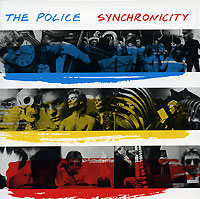 Обложка альбома «Synchronicity» (The Police, 2003)