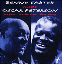 Обложка альбома «Benny Carter Meet Oscar Peterson» (Benny Carter / Oscar Peterson, 1987)