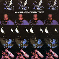 Обложка альбома «Live In Tokyo» (Weather Report, 1972)