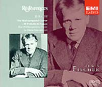 Обложка альбома «The Well-Tempered Clavier» (Edwin Fischer, ????)