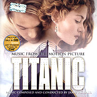 Обложка альбома «Titanic: Music From The Motion Picture» (James Horner, 1997)