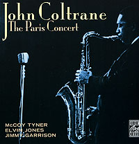 Обложка альбома «The Paris Concert» (John Coltrane, 1993)