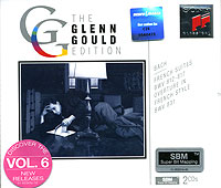 Обложка альбома «The Glenn Gould Edition. Bach. French Suites, BWV 812-817. Overture In French Style, BWV 831» (Johann Sebastian Bach, Glenn Gould, 1994)