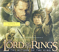Обложка альбома «The Lord Of The Rings: The Retum Of The King. Original Motion Picture Soundtrack» (Annie Lennox, Howard Shore, 2004)