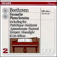 Обложка альбома «Beethoven. Favorite Piano Sonatas. Alfred Brendel» (ALFRED BR, 2006)