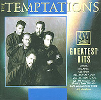 Обложка альбома «Greatest Hits» (The Temptations, 1992)