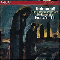 Обложка альбома «Rachmaninoff. The «Elegiac» Piano Trios. Beaux Arts Trio» (Beaux Arts Trio, 2006)
