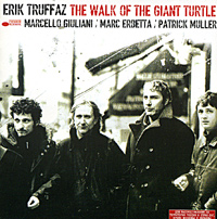 Обложка альбома «The Walk Of The Giant Turtle» (Erik Truffaz Quartet, 2003)