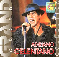 Обложка альбома «Grand Collection. Adriano Celentano» (2001)