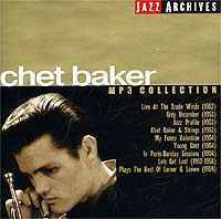 Обложка альбома «MP3 Collection» (Chet Baker, 2002)