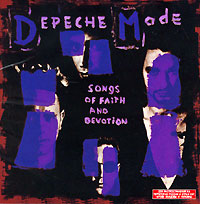 Обложка альбома «Songs Of Faith And Devotion» (Depeche Mode, 1993)