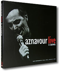 Обложка альбома «A L'olympia. Live» (Charles Aznavour, 1998)