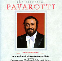 Обложка альбома «The Essential Pavarotti» (Pavarotti, 1990)