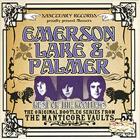 Обложка альбома «Best Of The Bootlegs» (Emerson, Lake & Palmer, 2004)