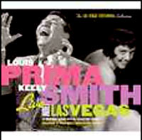 Обложка альбома «Live From Las Vegas» (Louis Prima, Keely Smith, 2005)